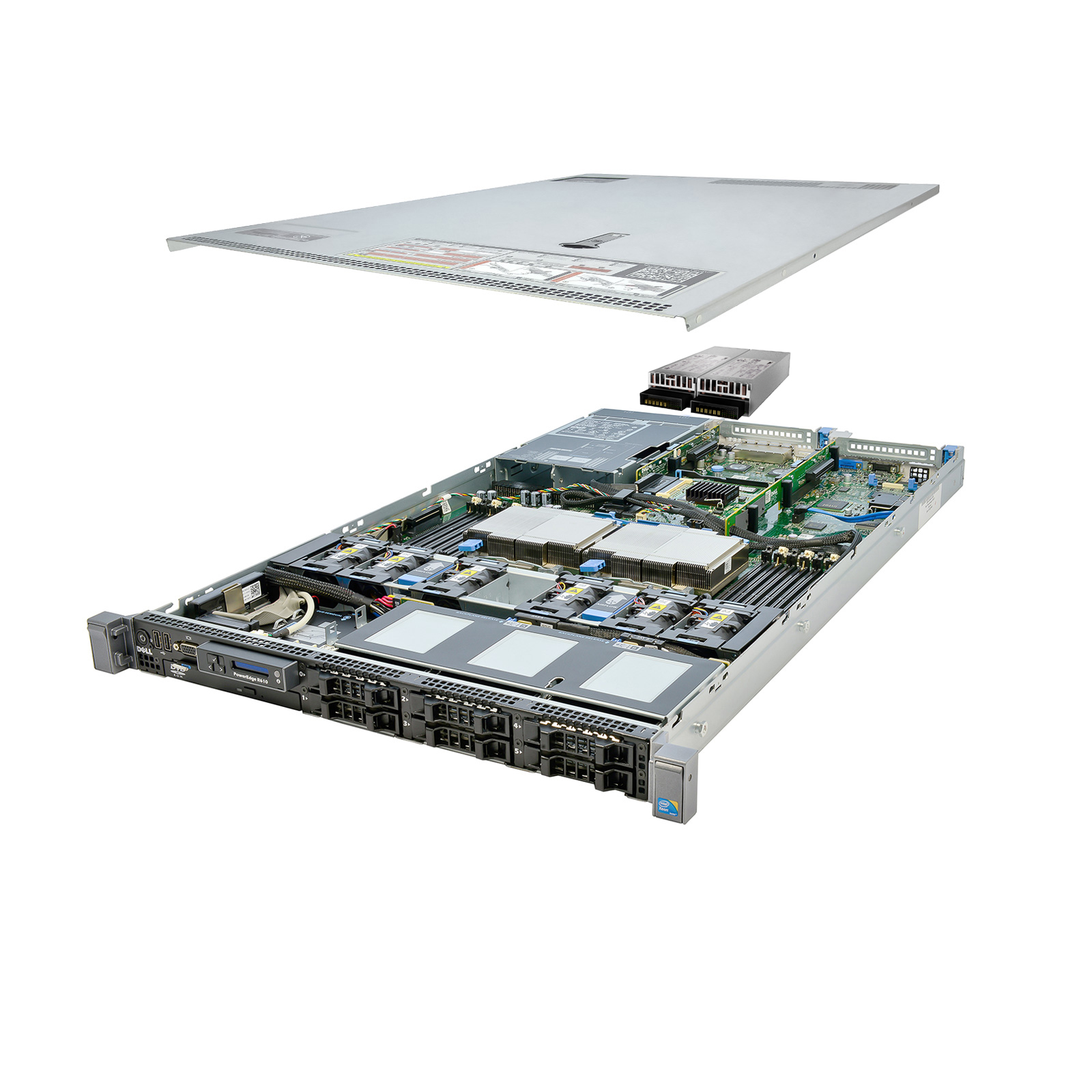 Details about Dell PowerEdge R610 Server 2x 3 06Ghz X5675 6C 64GB 2x 500GB  High-End